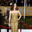 Jennifer Garner Wore Gold Sparkles at the 2013 SAG Awards