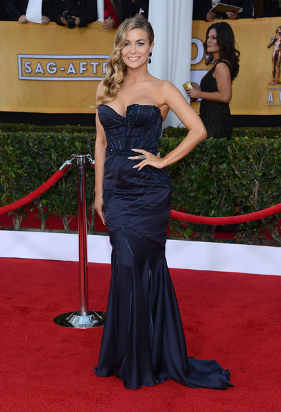 More Pics of Carmen Electra Mermaid Gown (1 of 18) - Mermaid Gown Lookbook - StyleBistro