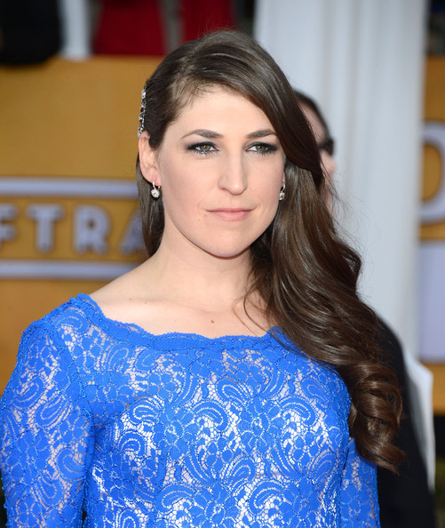 More Pics of Mayim Bialik Evening Dress (1 of 7) - Evening Dress Lookbook - StyleBistro