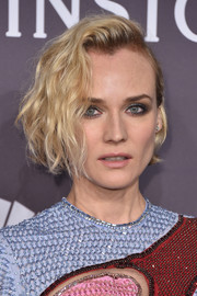 Diane Kruger worked a half-pinned, curled-out bob at the amfAR New York Gala.