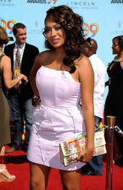 La La Anthony's colorful print clutch was a fun finish to her ensemble at the 2009 BET Awards.