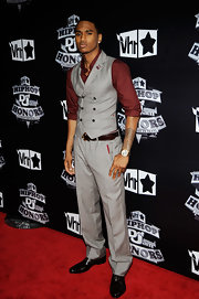 Trey Songz walked the red carpet at the VH1 Hip Hop Honors Awards where he showed off his arm tattoo.