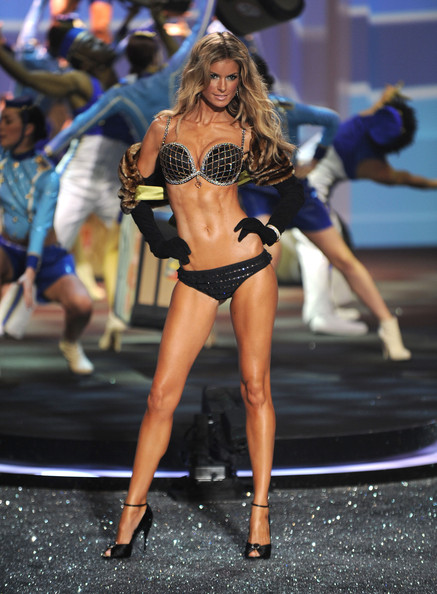 Marisa+Miller in 2009 Victoria's Secret Fashion Show - Runway