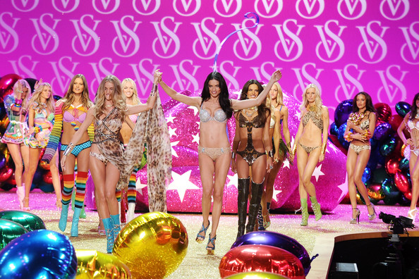 Victoria's Secret Angels Take to the Stage in Lingerie