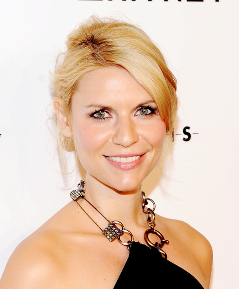 More Pics of Claire Danes Loose Bun (1 of 8) - Loose Bun Lookbook - StyleBistro