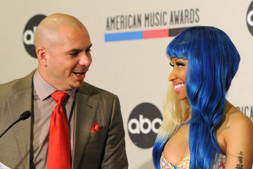Pitbull Nicki Minaj 2011 American Music Awards Nominations Press Conference
