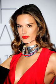 Supermodel Alessandra was smokin' hot at the 2011 CFDA Awards in ripe red lipstick. She mastered the look by keeping the rest of her makeup subtle.