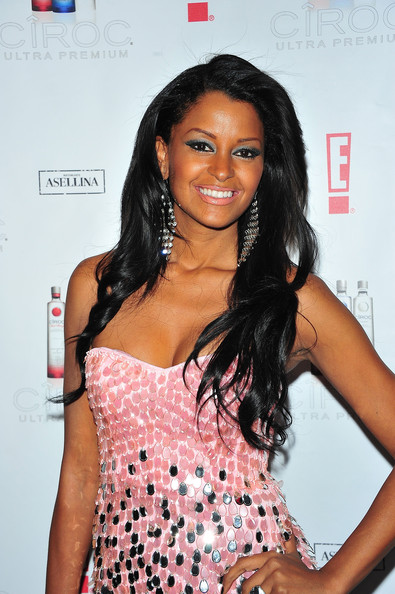 More Pics of Claudia Jordan Long Curls (1 of 9) - Claudia Jordan Lookbook - StyleBistro
