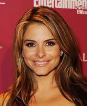 Maria Menounos wore a creamy caramel lipstick with lots of shimmer and shine at the 2011 'Entertainment Weekly' and Women in Film pre-Emmy party.