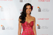 Padma Lakshmi attends the 2011 FiFi Awards at The Tent at Lincoln Center on May 25, 2011 in New York City.