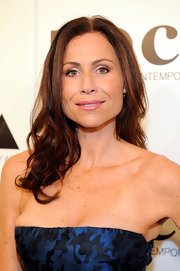 Minnie Driver wore a pretty pearly pink lipstick at the 2011 MOCA  Gala.