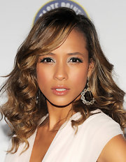 Dania Ramirez added a little flirt to her wink with lengthy lashes at the 'Maxim' Hot 100 party.
