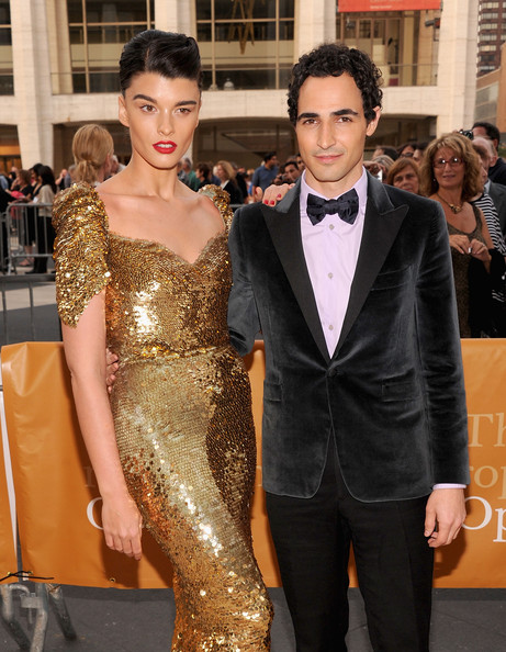 More Pics of Crystal Renn French Twist (1 of 3) - Crystal Renn Lookbook - StyleBistro [clothing,dress,suit,formal wear,hairstyle,carpet,fashion,event,premiere,red carpet,new york city,metropolitan opera house,metropolitan opera season,performance,anna bolena,crystal renn,zac posen]