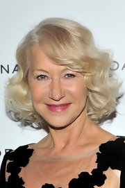 Helen Mirren looked lovely at the 2011 National Board of Review Awards Gala wearing her platinum tresses in a chic curly bob.