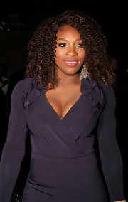 Serena Williams wore her gorgeous locks with plenty of bounce and volume to the 2011 New Yorkers for Children fall gala. To keep curls shiny without weighing them down, we recommend spritzing hair with a product like Carol's Daughter Tui Moisturizing Hair Sheer.