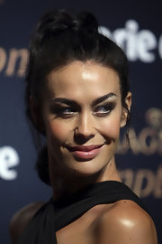 Megan Gale looked cute at the 2011 Prix de Marie Claire Awards wearing her hair in a high ponytail.