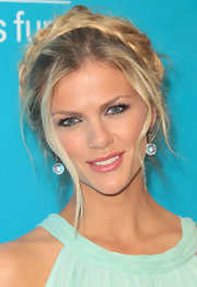 Brooklyn Decker wore her hair in a loose braided halo at the 2011 Unicef Ball.