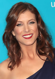 Kate Walsh wore her hair in soft ringlets with side-swept bangs at the 2011 UNICEF Ball.