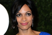 Rosario Dawson Sparles in Diane Von Furstenburg at Vanity Fair's Oscar Party