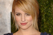 Dianna Agron Looks Ladylike in J. Mendel at the Elton John Oscar Party