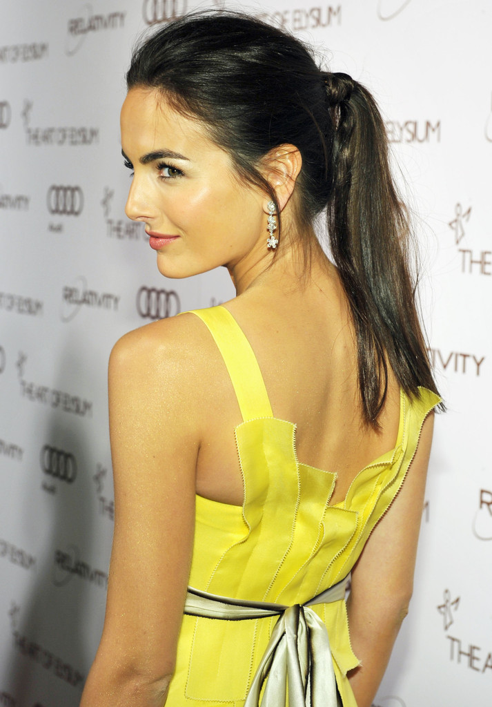 Camilla+Belle in 2012 Art of Elysium Heaven Gala - Red Carpet