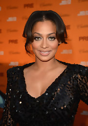 La La Anthony sported a subtle lip color when she attended the pre-BET Awards celebration.