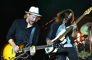 Bear Rinehart rocked a white fedora with a blue ribbon at the 2012 BamaJam Music and Arts Festival.