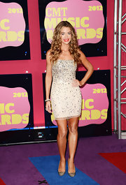 We're still not sure why Denise Richards was at the CMT Music Awards, but we love this sparkly mini!