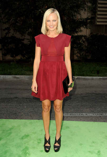 More Pics of Malin Akerman Medium Straight Cut (1 of 19) - Shoulder Length Hairstyles Lookbook - StyleBistro