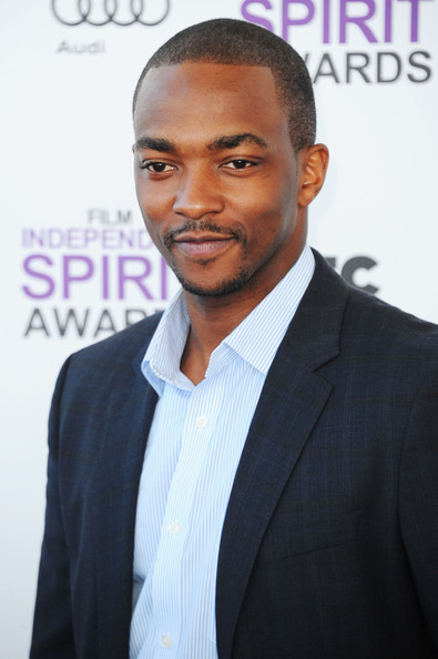More Pics of Anthony Mackie Running Shoes (1 of 12) - Anthony Mackie Lookbook - StyleBistro