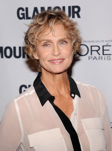 Lauren Hutton's Short Curls