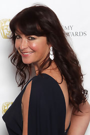 Suzi Perry looked healthy and glowing with her clear skin and subtle flush at the British Academy Video Game Awards.