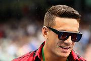 Sonny Bill Williams styled his hair in a super-neat hightop fade for the 2012 Heineken Open.