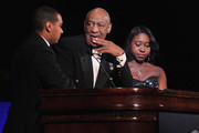 Bill Cosby and Christopher Francis Photo