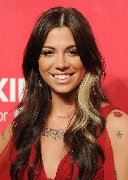 More Pics of Christina Perri Dangling Pearl Earrings (1 of 13) - Christina Perri Lookbook - StyleBistro
