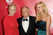 Hugh Hefner and Karissa Shannon Photo