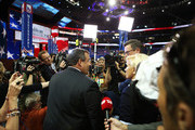 Joe Scarborough and Chris Christie Photo