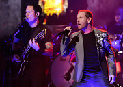 Corey Taylor's silver blazer was a dapper finish to his tee and jeans combo at the 2012 Revolver Golden Gods Award Show.