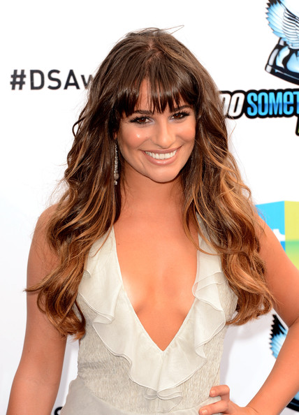 More Pics of Lea Michele Ombre Hair (1 of 25) - Lea Michele Lookbook - StyleBistro