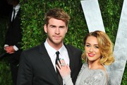 Miley Cyrus Makes a Fashion Statement at the Oscars 2012
