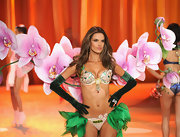 "At the 2012 Victoria's Secret Fashion Show, Alessandra was the lucky angel to model the brand's $2.5-million ""Fantasy"" bra."