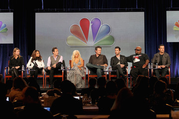 Christina Aguilera Cee-Lo Green 2012 Winter TCA Tour - Day 3