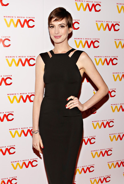 More Pics of Anne Hathaway Wristband (1 of 12) - Anne Hathaway Lookbook - StyleBistro