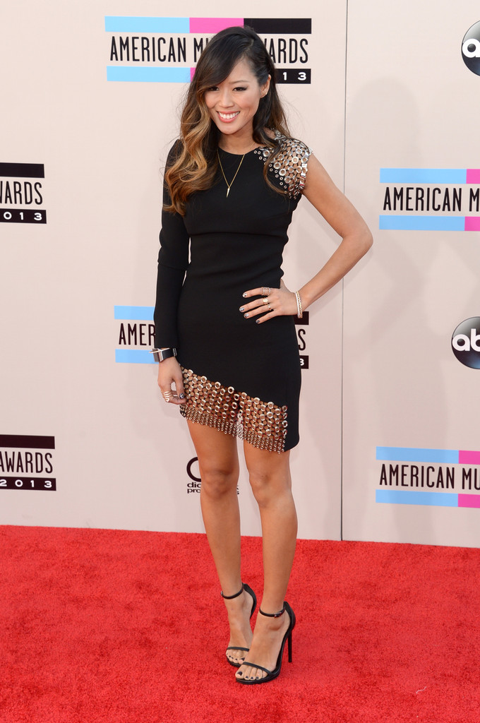 Blogger Aimee Song attends the 2013 American Music Awards at Nokia Theatre L.A. Live on November 24, 2013 in Los Angeles, California.