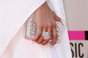 Zendaya Coleman accessorized with a glamorous Swarovski clutch at the 2013 American Music Awards.
