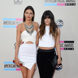 Kendall Jenner and Kylie Jenner in Cutouts and a Crop-Top
