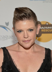 Natalie Maines looked super cool with her sculpted fauxhawk at the Animal League America Celebrity Gala.