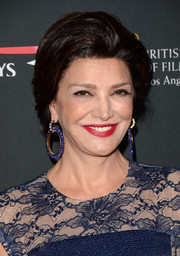 Shohreh Aghdashloo looked regal at the BAFTA LA Britannia Awards with her puffy updo and elegant jewels.