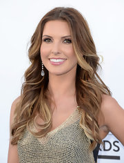 Audrina Patridge's highlights were front and center thanks to a lovely wavy 'do.