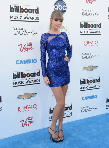 Bold and Blue Zuhair Murad at the 2013 Billboard Music Awards